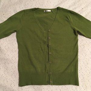 NWOT Modcloth charter school cardigan in green